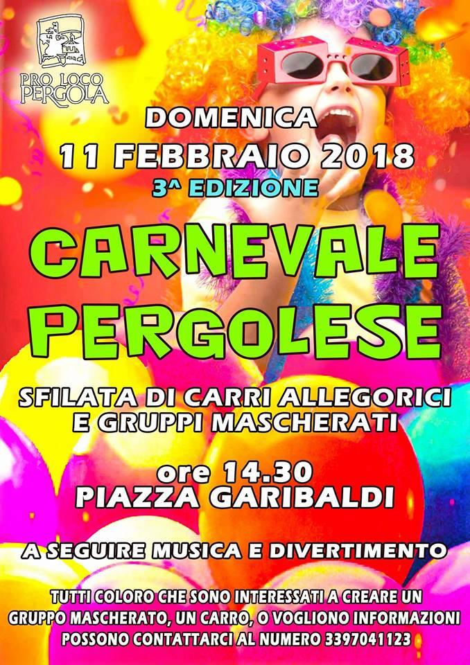 carnevale pergolese 2018