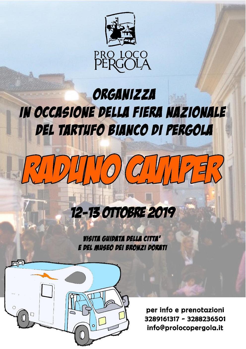 raduno camper fiera tartufo pergola 2019